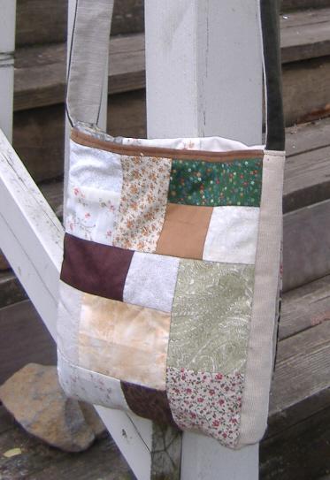 handmade hippie patchwork bag