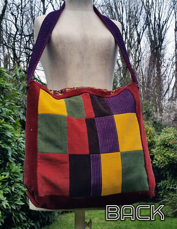 handmade hippie patchwork bag