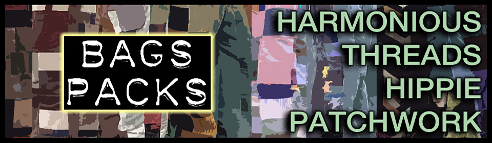 harmonious threads handmade hippie patchwork bags and packs