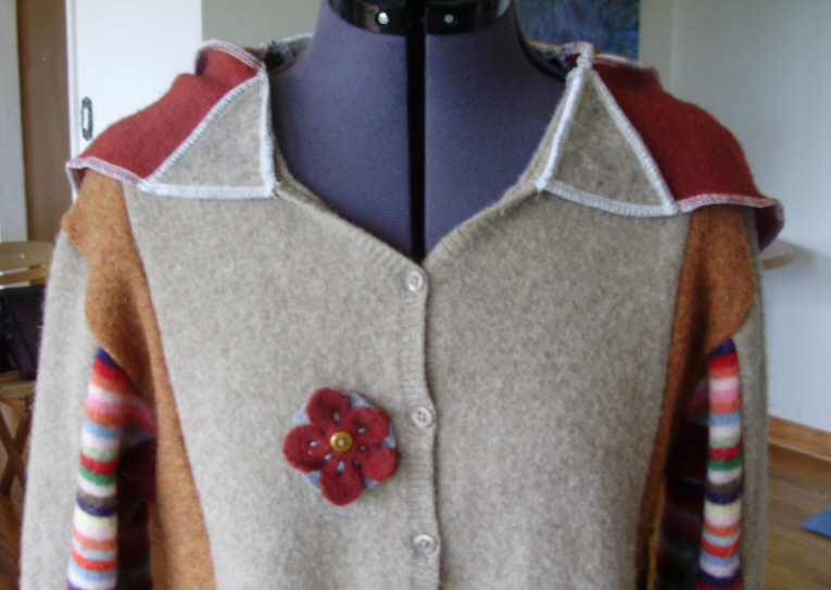 handmade patchwork jacket