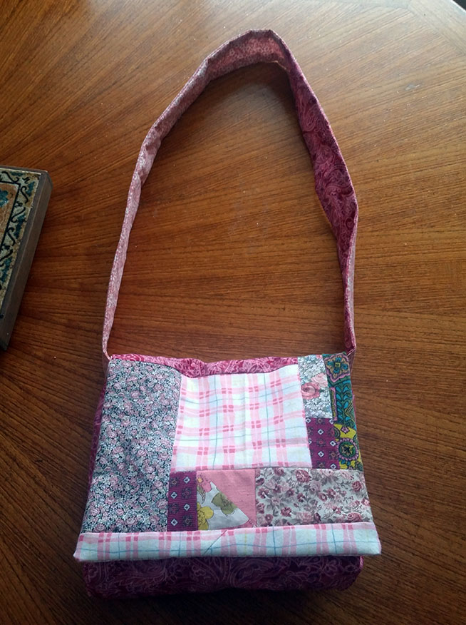 hippie patchwork custom bag