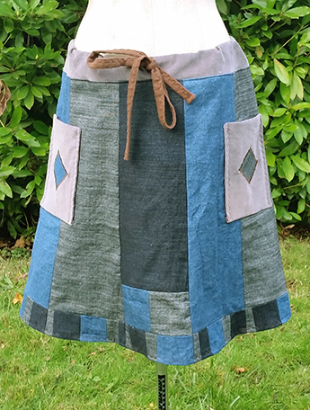 hippie patchwork Skirts