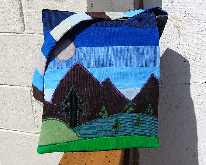hippie patchwork bag