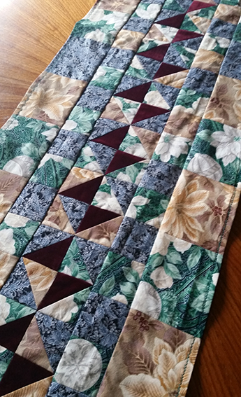 hippie patchwork custom table runner