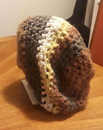hippie crochet dreadlock tam hat cap beanie