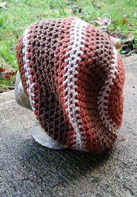 hippie crochet dreadlock tam hat cap beanie