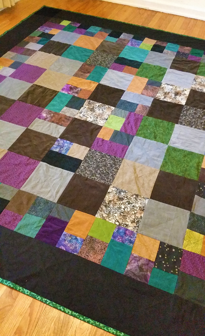 hippie patchwork custom quilt