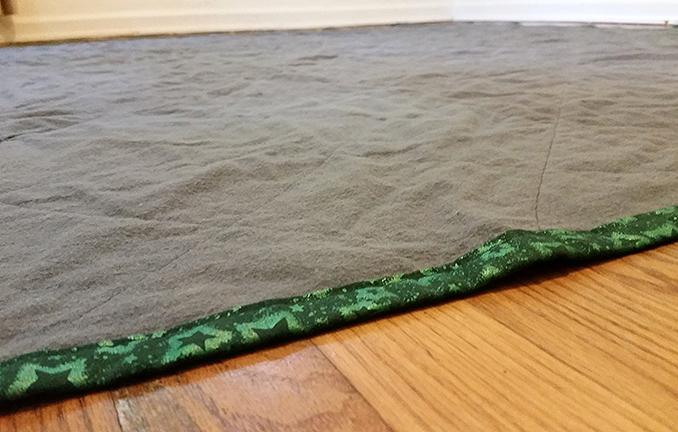 hippie patchwork custom quilt