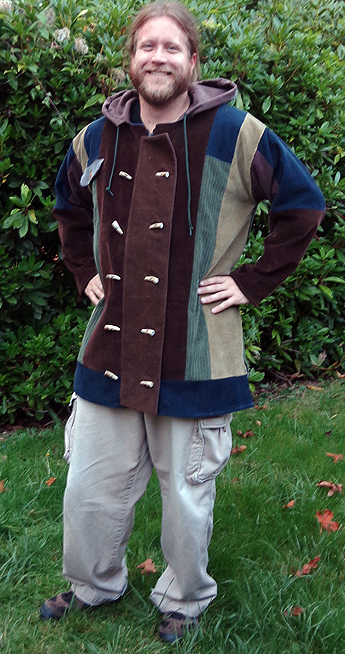 hippie patchwork coat