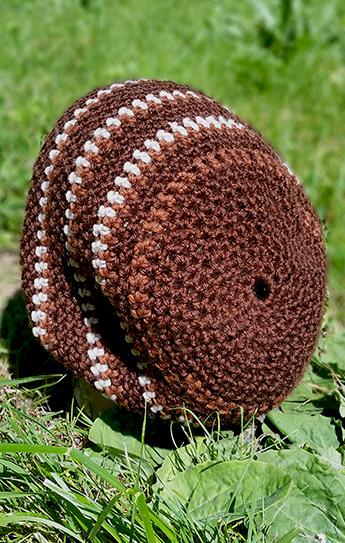 hippie crochet dread slouch cap hat tam