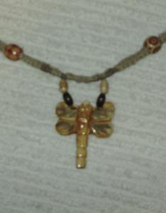 hippie macrame hemp necklace