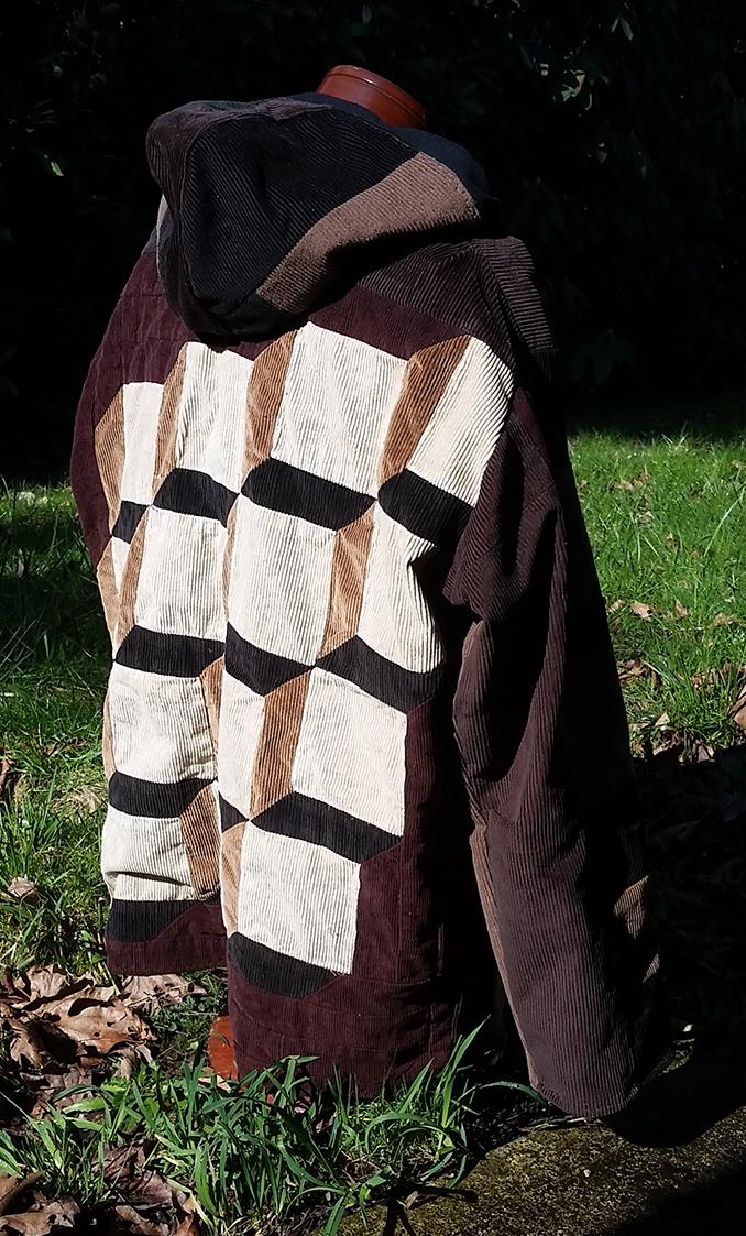 handmade hippie patchwork hoodie