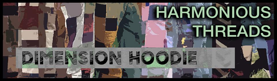 harmonious threads handmade hippie patchwork hoodie