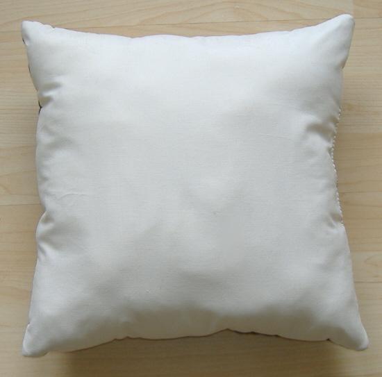 handmade patchwork pillow